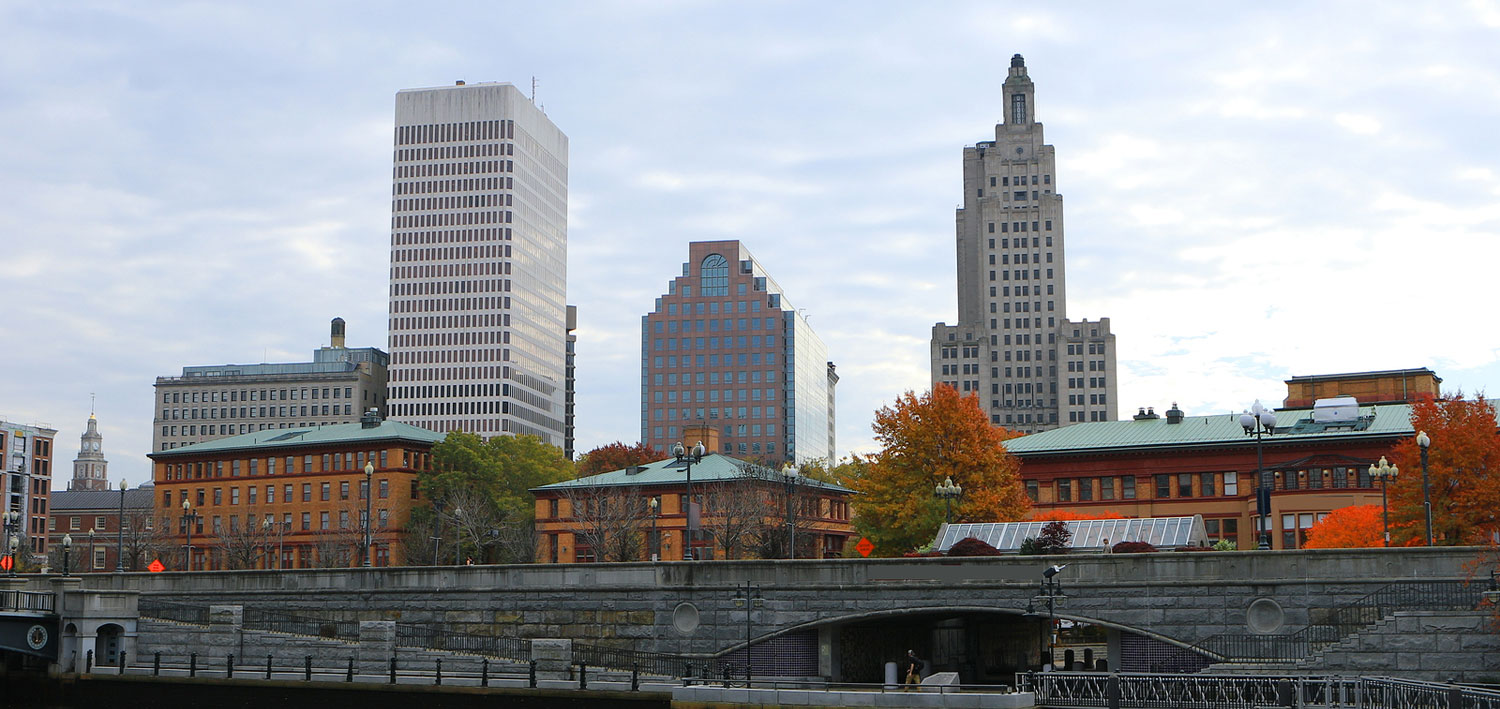 View-Of-City-Center-Of-Providence